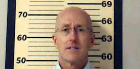 Attorney Mark Mayfield, who was arrested on allegations of involvement in a scheme to photograph the bedridden wife of U.S. Sen. Thad Cochran, R-Miss., on May 22, 2014.