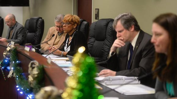 The York City Council considered overriding Mayor Kim Bracey's veto of the proposed budget on Wednesday, Dec. 30, 2015.