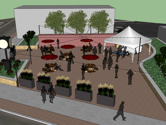 Menomonee Falls' first downtown beer garden set to open
