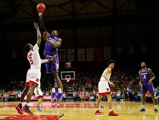 NCAA Basketball: Northwestern at Rutgers