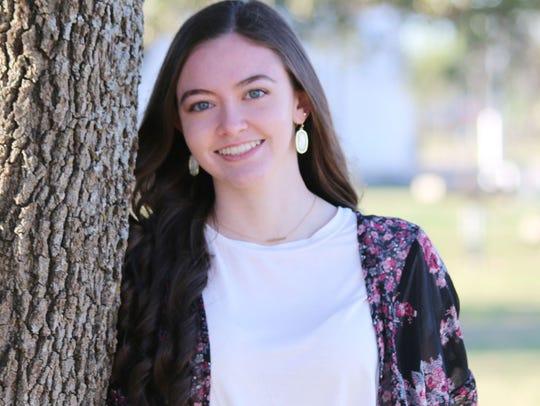 Valedictorian Kristen Shae Hemphill