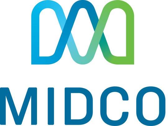 Midco's new logo.