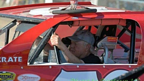 At the age of 74, Green Bay's Jerry Muenster still competes weekly at area dirt tracks in his IMCA modified.