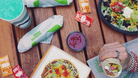 Taco Bell has added a vegetarian menu.