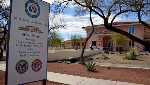 The newly opened Fisher House was dedicated in Tucson on Feb. 18.