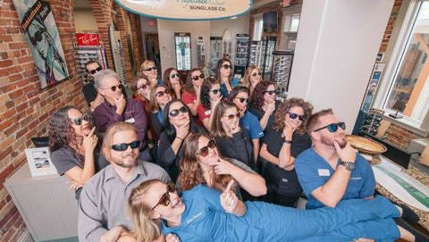Dr. Greg Aker opened Playalinda Sunglass Co. in March at 338 S. Washington Ave., Titusville.