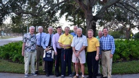 Kiwanis Club golfers get ready for the challenge