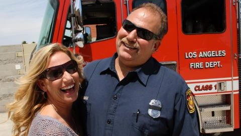 The Los Angeles Fire Department remembered Capt. David T. Moorman, who lived in Thousand Oaks and died over weekend after a medical emergency at his house. He was 50.
