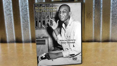 """""""Willie Francis Must Die Again"""" is the true story of Willie Francis a teen sentenced to death in the 1940s."""