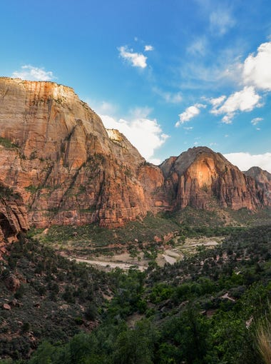 In Southern Utah, Zion National Park and its 229 square miles of towering cliff walls, narrow canyons and absolutely stunning scenery lie about 300 miles from Salt Lake City and 160 miles from Las Vegas.