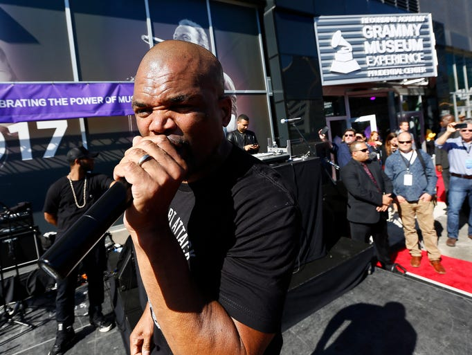 Darryl McDaniels, the DMC of Run DMC belts out 'It's