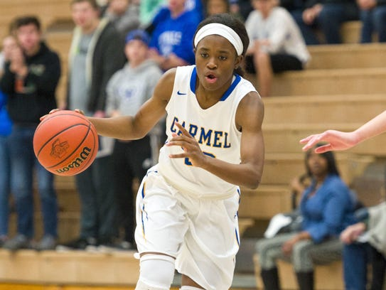 Carmel's Tomi Taiwo committed to Iowa this week.