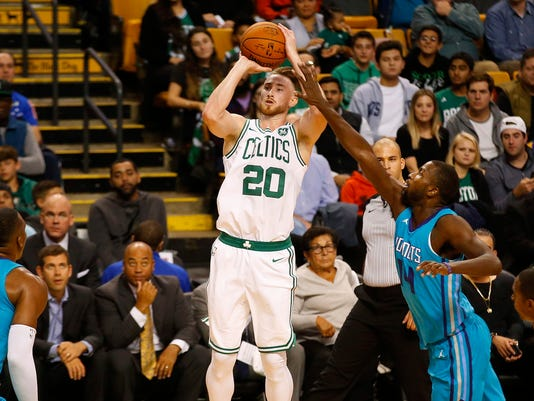 NBA: Preseason-Charlotte Hornets at Boston Celtics