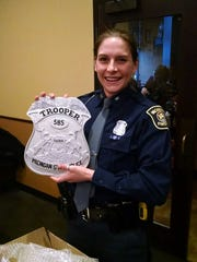 Michigan State Police Trooper Kourtney-Chloe DeBottis