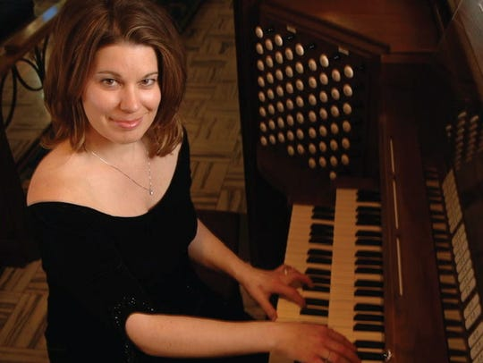 Organist Maxine Thevenot performs at 7 p.m. Friday