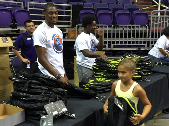 Brandon Knight put on the best back-to-school event