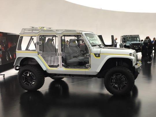 The Jeep Wrangler Safari.