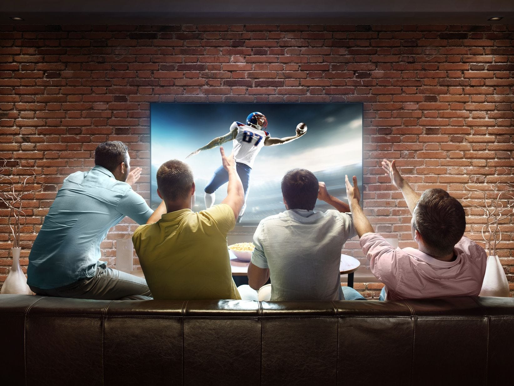 Impress your guests with your brand new 55-inch smart LED TV. Enter 1/2-1/21