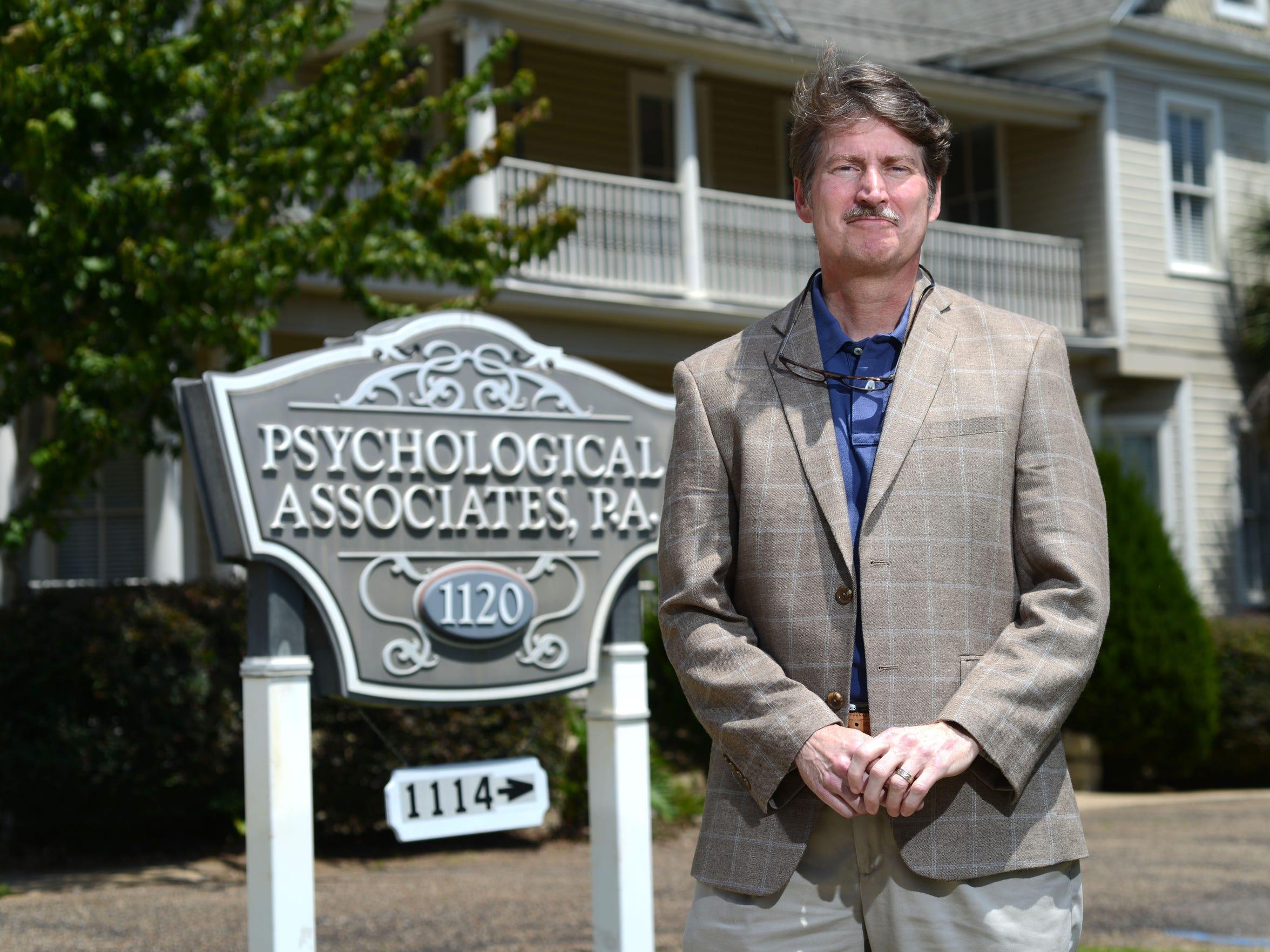 Psycologist Dr. Rick Spencer, with Psychological Associates,