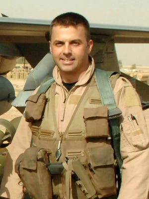 Maj. Troy Gilbert, an F-16 Fighting Falcon pilot, was killed Nov. 27, 2006, in an F-16 crash 30 miles southwest of Balad Air Base, Iraq.