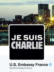 U.S. Embassy France changed its Twitter photo.