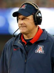 Former UA head football coach Rich Rodriguez