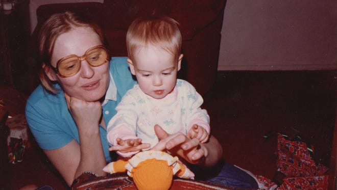 Brenda and daughter Barbara VanDenburgh, circa 1983.