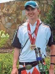Seidell, 15, has consistently taken medals in archery. His goal is to compete at the 2020 Olympics.