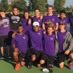 Bloomfield Hills placed second at the Division 1 boys tennis tournament over the weekend in Midland.