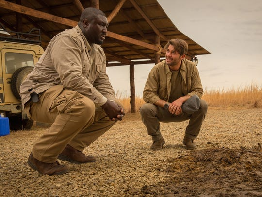 Pictured (L-R)  Nonso Anozie as Abraham and James Wolk