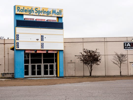 The former Raleigh Springs Mall is now a vacant lot and the city would like to see the land redeveloped.