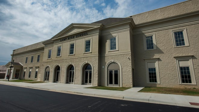 The new LAMP High School building in Montgomery, Ala. on Thursday August 3, 2017.