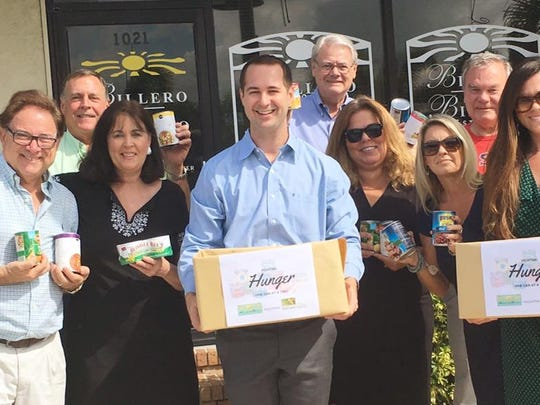 Coastal Van Lines worked with local business in Vero Beach such as Billero & Billero Properties to host a community food drive during Hunger Action Month.
