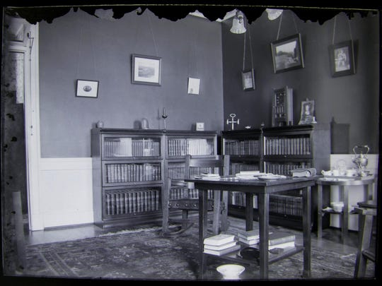 Dr. Watson Wasson's private rooms at the Vermont State Hospital, shortly before the flu epidemic struck.