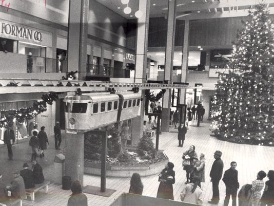 Midtown Plaza circa 1972