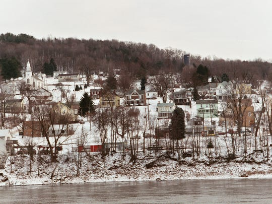 Jim Kelly's hometown, East Brady, Pa., sits on the Allegheny River, 65 miles north of Pittsburgh.