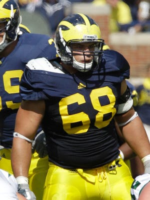 Michigan defensive tackle Mike Martin in 2011.