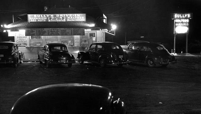 Sully's Drive-in was located on West Saginaw, undated photo.