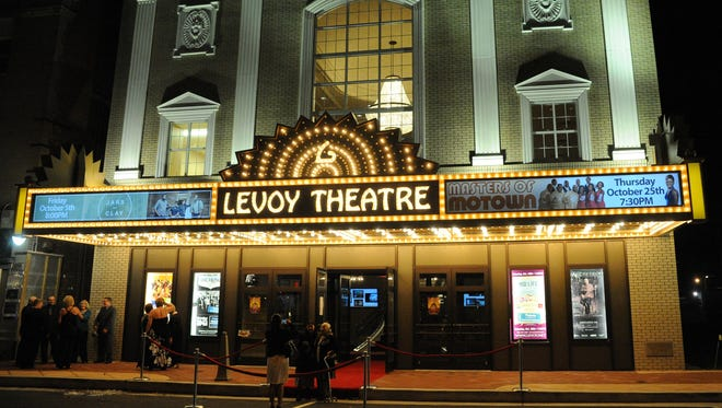 A view of the newly restored Levoy Theatre at the Grand Opening Gala Event on September 22, 2012.