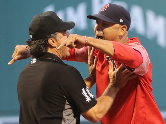 Alex Cora won the World Series in his first year as manager of the Red Sox.