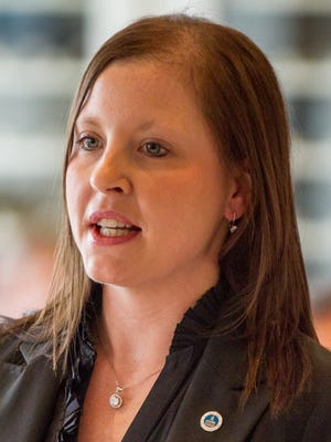 State Rep. Leigh Wilburn, R-Somerville, submitted her letter of resignation to House Speaker Beth Harwell for unspecified family and business reasons.