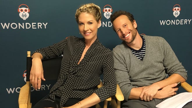 "Jenna and Bodhi Elfman are the voices of Franny and Jim, a couple that has to figure out whether they're still in love in audio drama ""A Beautiful Spell."""