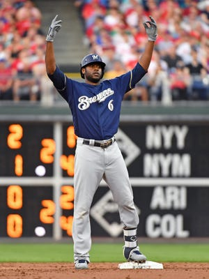 Lorenzo Cain likes to have fun on the field, and it shows.