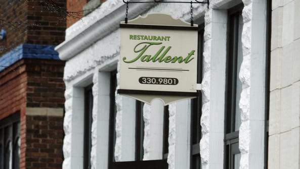 Restaurant Tallent, 208 N. Walnut in Bloomington, gets