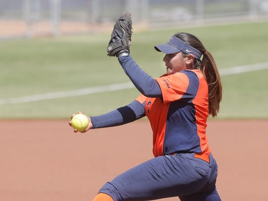 UTEP's Taylor Grohmann started at pitcher against Missouri