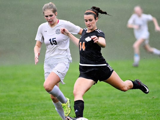 Dallastown vs Central York girls' soccer