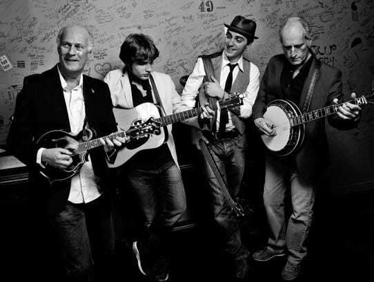 Italian bluegrass band Red Wine plays at Asheville's