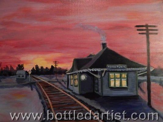 Bottled Artist Yorktown depot painting.jpg