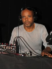 Juan Atkins performs at St. Andrews Hall KMS Movement