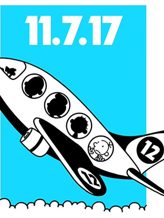 new car release diaryNew Wimpy Kid book poised for takeoff on Nov 7